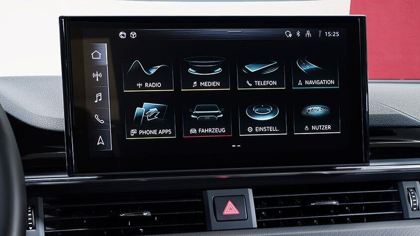 Audi A4 RS Avant - display